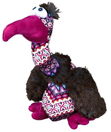 Rotaļlieta suņiem - Trixie Vulture Elfriede, plush/fabric, putns, 28 cm