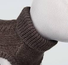 Джемпер для собак - Langley pullover, XS, 27 cm, коричневый