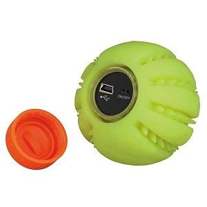 Rotaļlieta suņiem - TRIXIE Light ball USB, 6 cm, krāsa - dzeltena