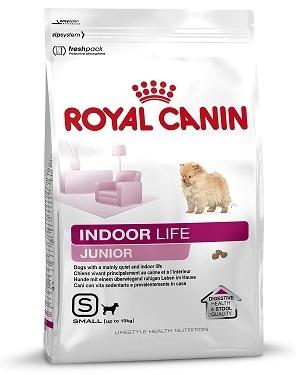 Barība suņiem - Royal Canin Indoor Life Junior Small dog 1.5kg