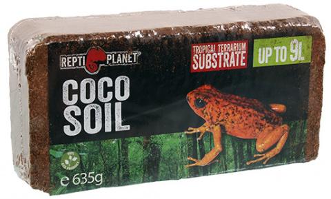 Субстрат для террариума - ReptiPlanet Coco Soil, up to 9L title=