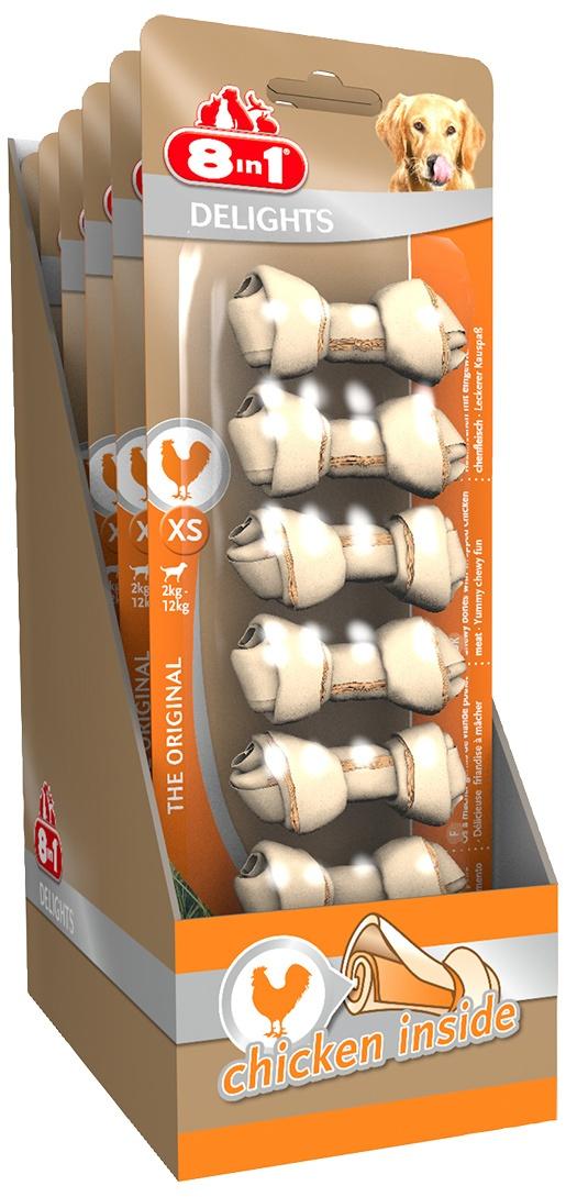 Лакомство для собак - 8in1 Delights XS, 7 шт.