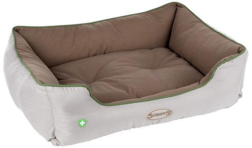 "Спальное место для собак - Scruffs ""Insect Shield"" Box Bed, противопаразитарный матрас, 75*60см"