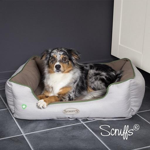 "Guļvieta suņiem - Scruffs ""Insect Shield"" Box Bed, pretinsektu matracis, 75*60cm"