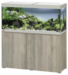 Akvārijs ar skapi - EHEIM Vivaline LED oak grey, 240l