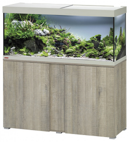Аквариум со шкафчиком - EHEIM Vivaline LED oak grey, 240l
