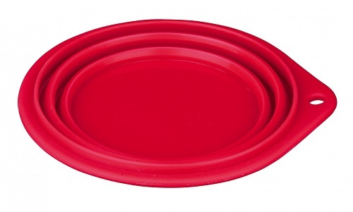 Миска для собак для путешествий - Trixie Travel Bowl, 0.5 л, 14 см