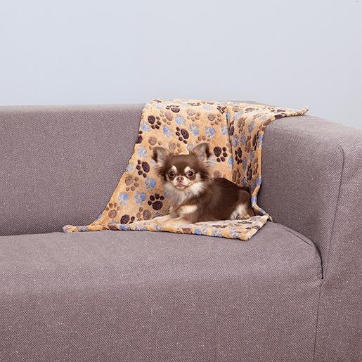 Guļvieta suņiem – TRIXIE Laslo Blanket, 75 x 50 cm, Beige