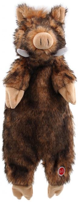 Rotaļlieta suņiem – Dog Fantasy Good's Skinneeez wild boar plush, 50 cm