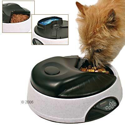 Автоматическая кормушка для кошек - TRIXIE TX4
