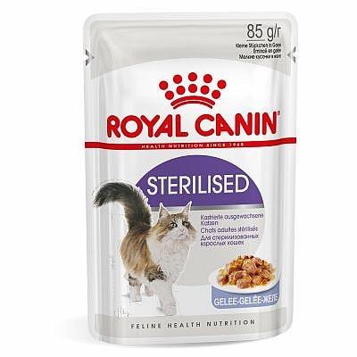Konservi kaķiem - Royal Canin Feline Sterilised (mērcē) 85g