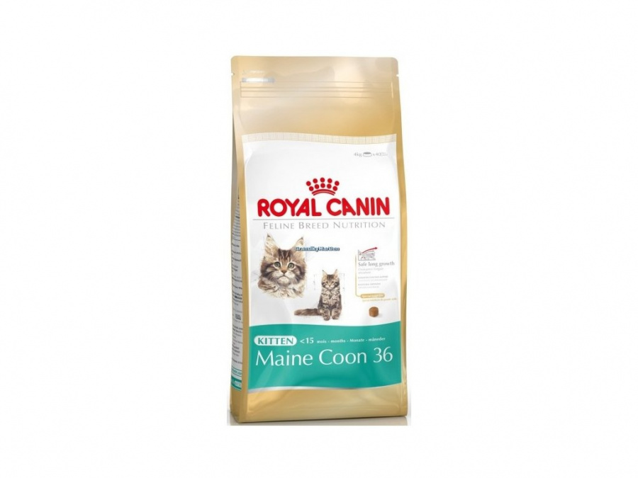 Корм для котят - Royal Canin Feline Maine Coon Kitten, 0,4 кг