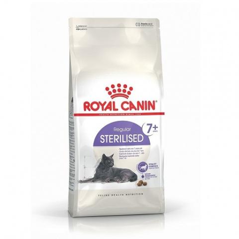 Корм для кошек - Royal Canin Feline Sterilised +7, 0.4 кг