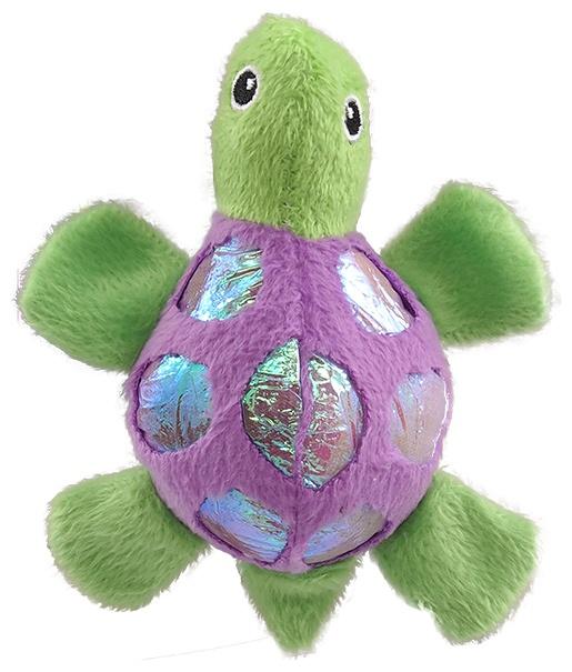 Игрушка для котов - Magic Cat Plush turtle with catnip mix colour, 11 см