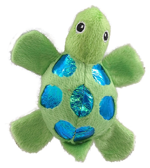 Rotaļlieta kaķiem – Magic Cat Plush turtle with catnip mix colour, 11 cm