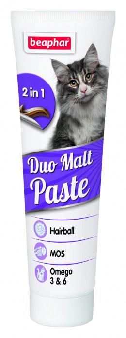 Vitamīnu pasta kaķiem - Beaphar Duo-Malt Cat, 100 g
