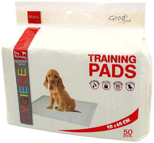 Absorbējošie paladziņi - Dog Fantasy Training Pads, 90 x 60 cm - 50 gb
