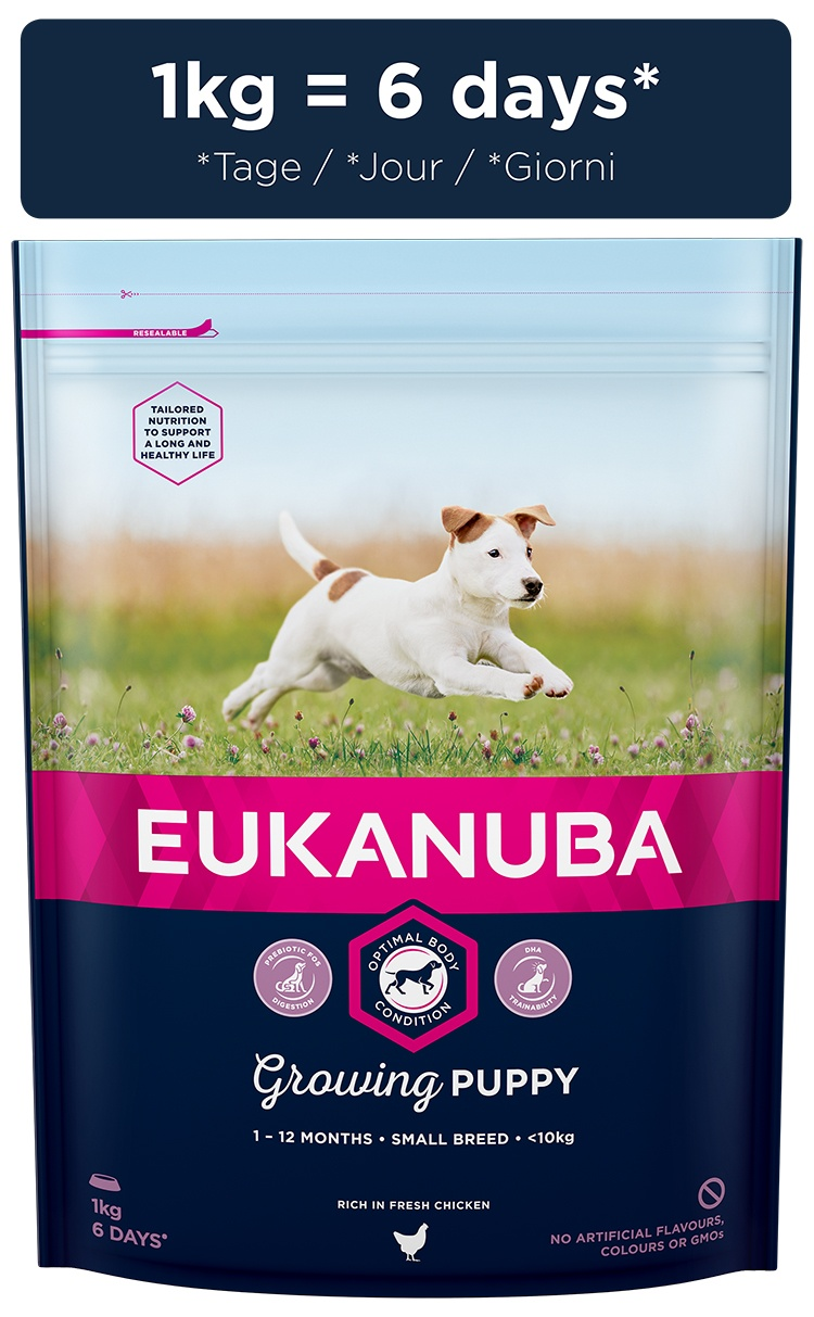 Корм для собак - Eukanuba Puppy Small Breed, 1 кг