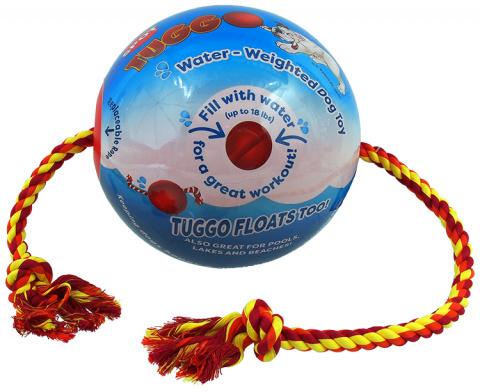 Мячик для собак – Dog Fantasy Tuggo Ball, 25 см title=