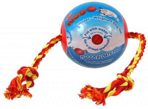 Мяч для собак - Dog Fantasy Tuggo Ball, 10 см title=