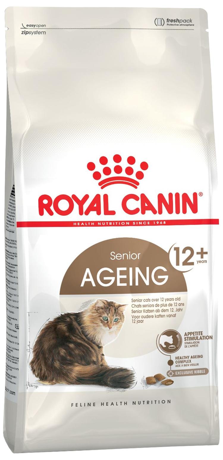 Корм для кошек - ROYAL CANIN Feline Ageing +12, 4кг