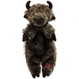 Rotaļlieta suņiem -  Dog Fantasy Good's Skinneeez bizon, plush, 34 cm