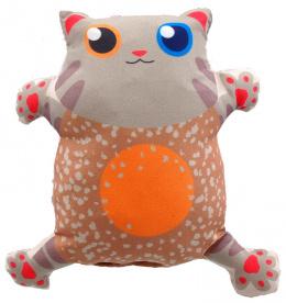 Rotaļlieta kaķiem - LET`S PLAY cat with catnip 14 cm, beige