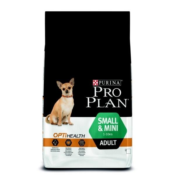 Barība suņiem - Pro Plan Small & Mini Adult Chicken, 7 kg