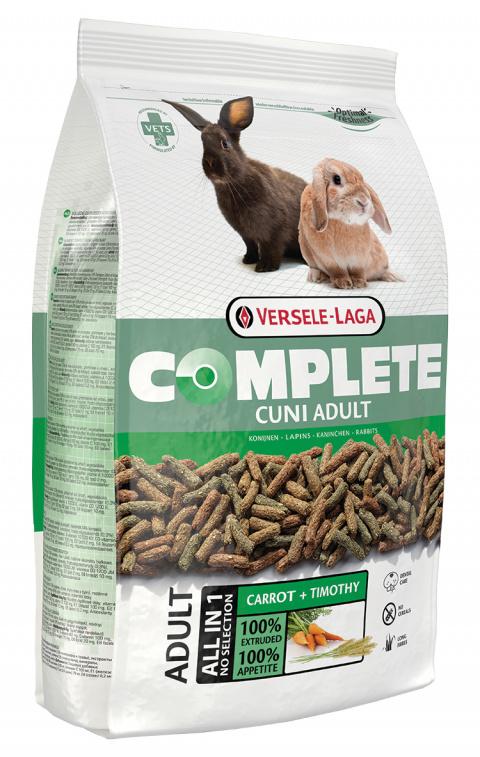 Корм для карликовых кроликов - VERSELE-LAGA Complete Cuni Adult, 1.7 кг title=