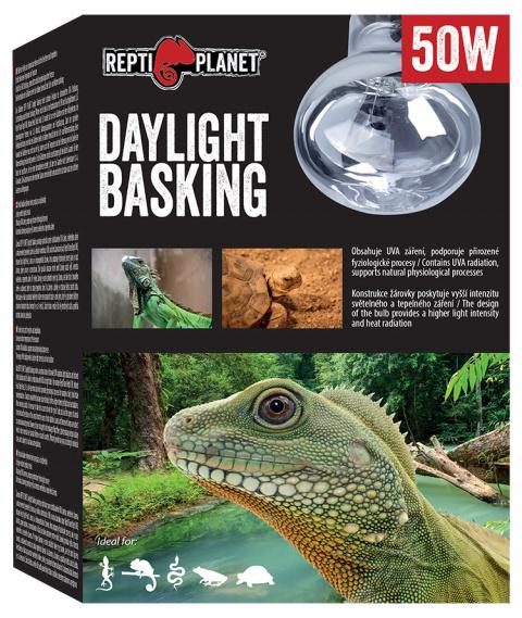 Лампа для террариумов - ReptiPlanet Daylight Basking Spot, 50W title=
