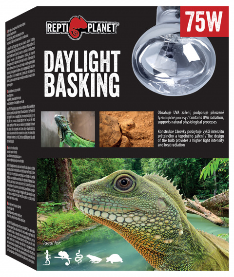 Лампа для террариумов - ReptiPlanet Daylight Basking Spot, 75W title=