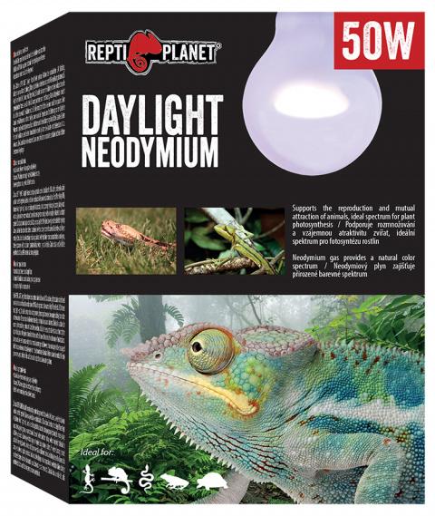 Лампа для террариумов - ReptiPlanet Daylight Neodymium, 50W title=