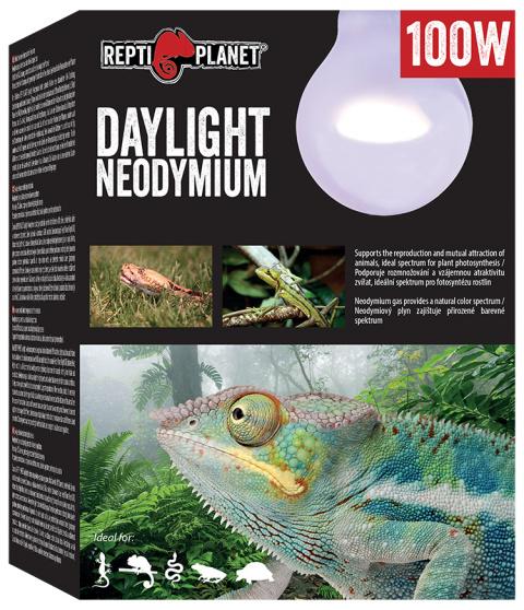 Лампа для террариумов - ReptiPlanet Daylight Neodymium, 100W title=