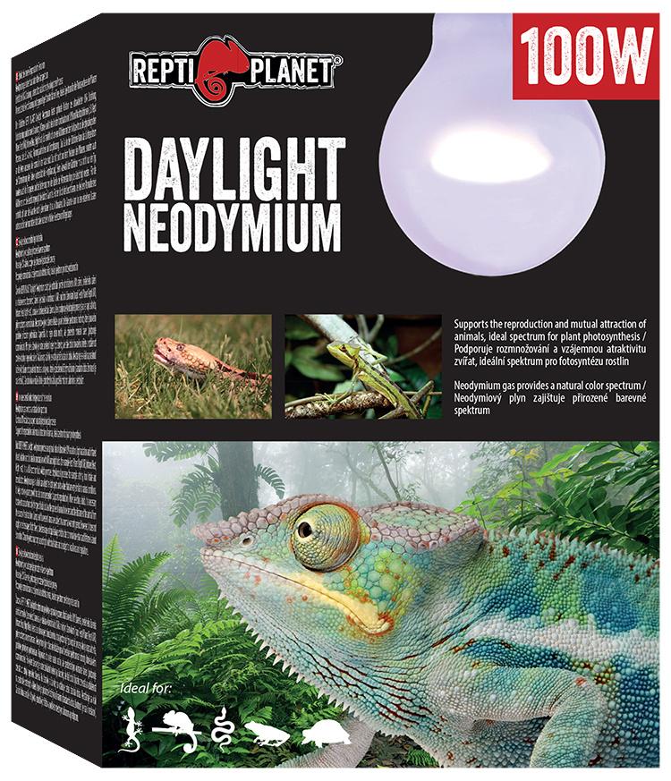 Лампа для террариумов - ReptiPlanet Daylight Neodymium, 100W