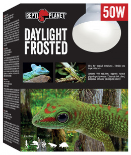 Лампа для террариумов - ReptiPlanet Daylight Frosted, 50W