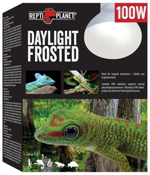 Лампа для террариумов - ReptiPlanet Daylight Frosted, 100W title=