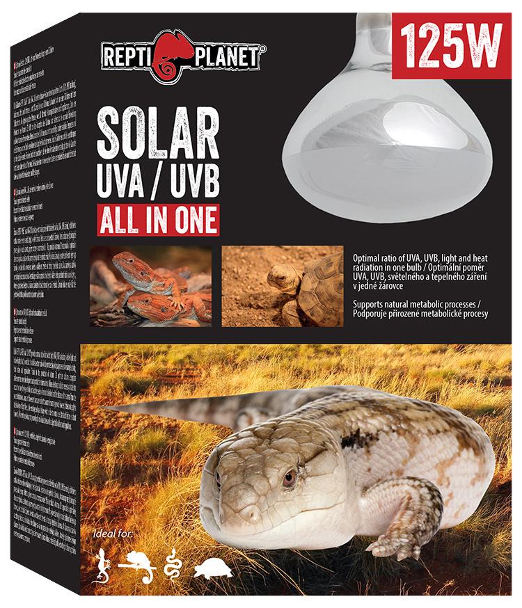 Spuldze terārija lampai - ReptiPlanet Solar UVA & UVB, 125W