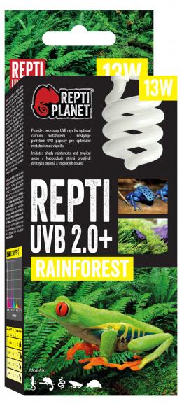 Лампа для террариумов - ReptiPlanet Repti UVB 2.0, 13W