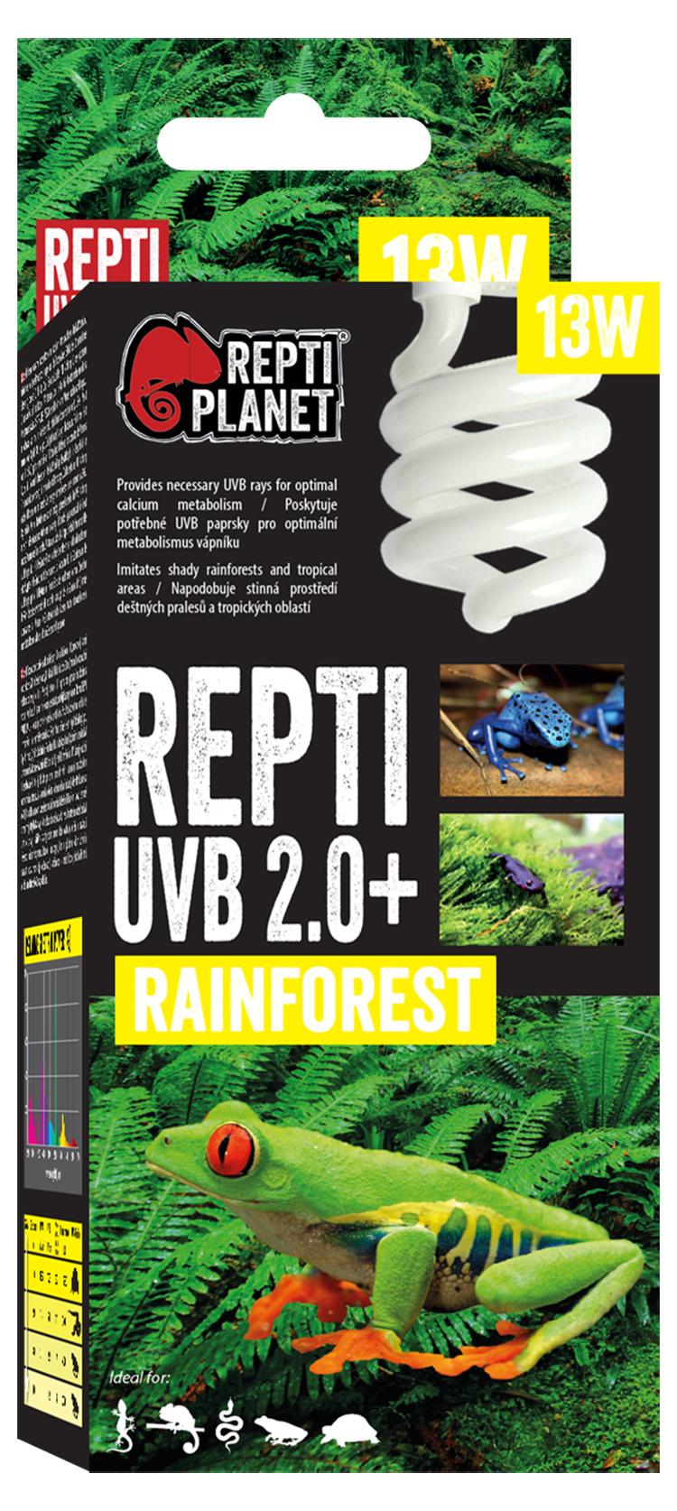 Spuldze terārija lampai - ReptiPlanet Repti UVB 2.0, 13W