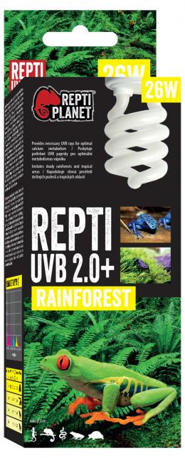 Лампа для террариумов - ReptiPlanet Repti UVB 2.0, 26W