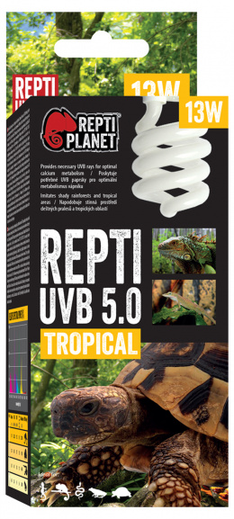 Spuldze terārija lampai - ReptiPlanet Repti UVB 5.0, 13W