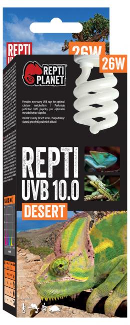 Spuldze terārija lampai - ReptiPlanet Repti UVB 10.0, 26W