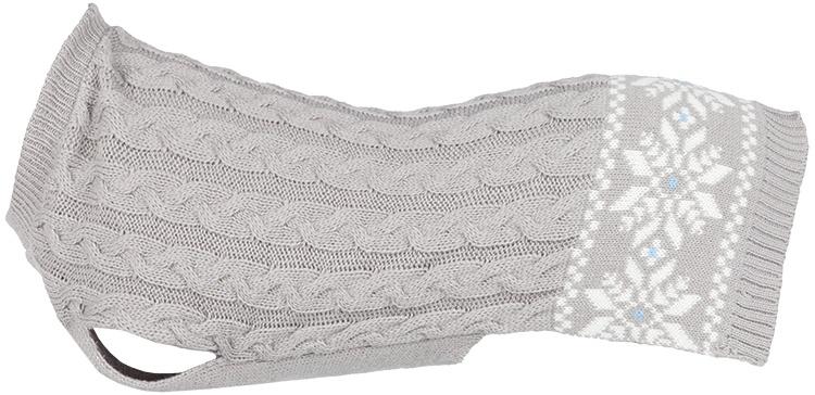Džemperis suņiem - Trixie Granby pullover, XS, 25 cm, pelēka