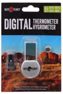 Hidrometrs / termometrs terārijam - Repti Planet LCD Thermometer/Hygrometer