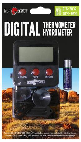 Гидрометр / термометр - ReptiPlanet LCD Outdoor