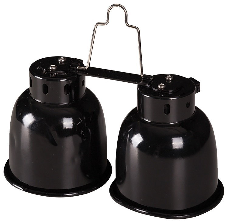Аксессуар для терариума - ReptiPlanet Dual Mini Dome, 2 x 40W