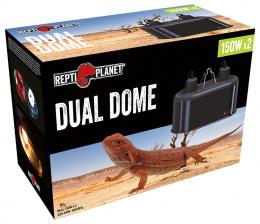 Aksesuārs terārijam - ReptiPlanet Dual Dome, 2 x 150W