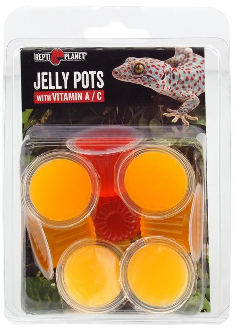 Papildbarība rāpuļiem  - Repti Planet Jelly Pots Fruit