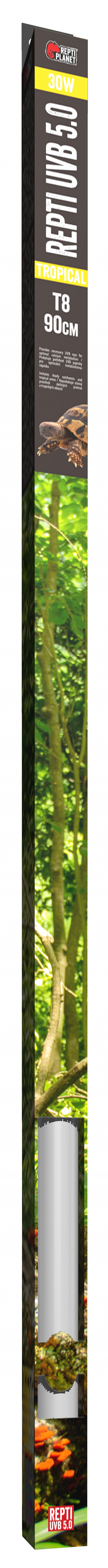 Лампа для террариумов - ReptiPlanet Repti T8 UVB 5.0 30W, 90 см title=