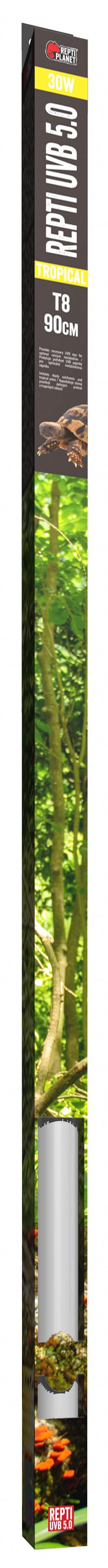 Лампа для террариумов - ReptiPlanet Repti T8 UVB 5.0 30W, 90 см
